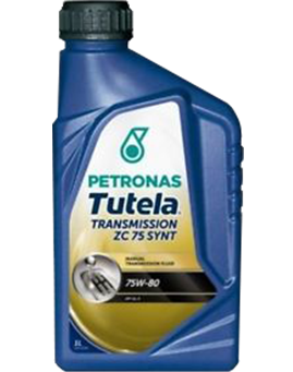 PETRONAS TUTELA TRANSMISSION ZC 75 SYNTH 75W80